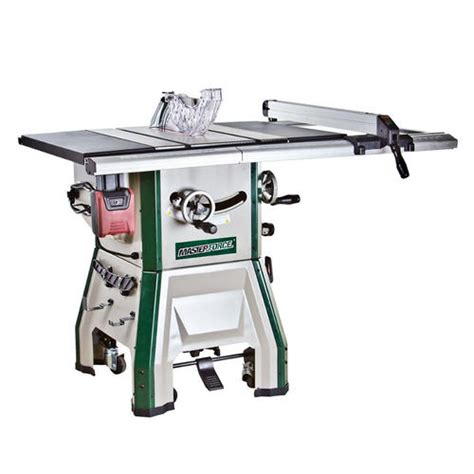 contractor table saw masterforce 174 10 in contractor table saw with mobile base