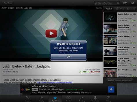 download youtube on ipad download youtube videos to your ipad with video tube cnet