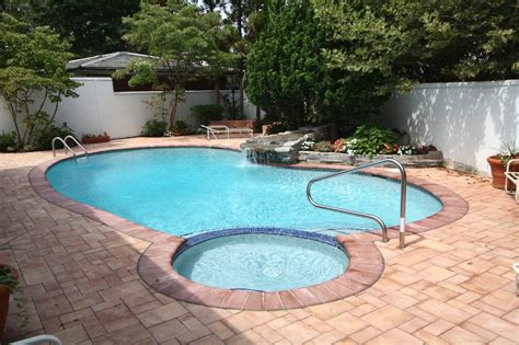 pools with spas pool with spa swimming pool installs inground semi