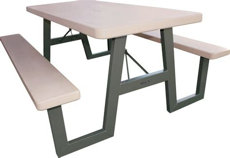 lifetime bench table lifetime 22119 6 ft folding picnic table with benches