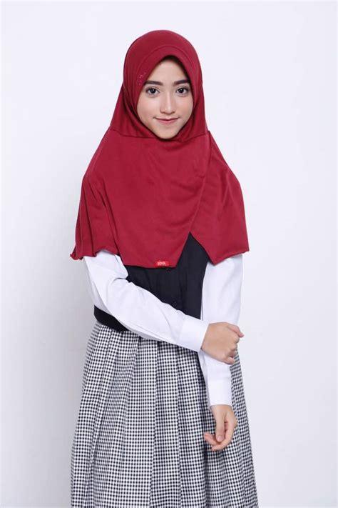 hijab syari sekolah tutorial hijab terbaru