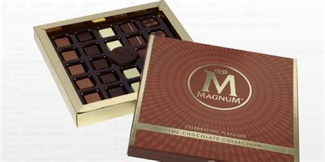 Magnum Signature Chocolate 90gr premium chocolates from magnum to launch soon nogarlicnoonions restaurant food and travel