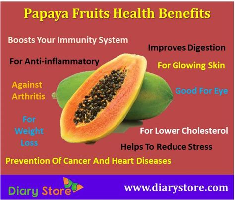 Papaya For Health And by Papaya Fruit Nutrition Facts And Health Benefits Of Papaya