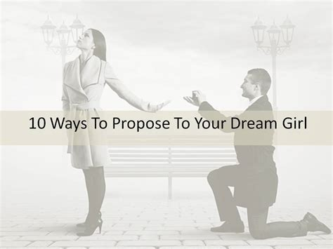 10 Unique Ways For A To Propose by 10 Ways To Propose To Your