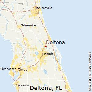 map of deltona florida best places to live in deltona florida