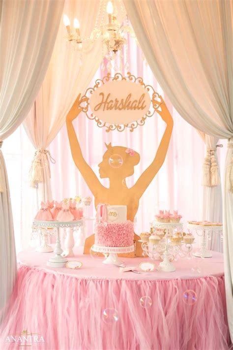 Kara s party ideas elegant ballerina birthday party kara s party ideas