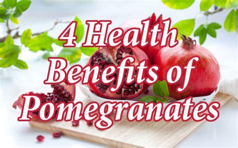 Pomegranate Detox Thc by Top 4 Health Benefits Of Pomegranates