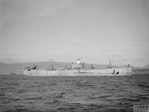 Greenock Records Refuelling Trials At Sea 28 April 1944 Greenock Area Refuelling At Sea Trials On