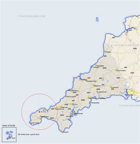 503325 the road to zennor zennor map street and road maps of cornwall england uk