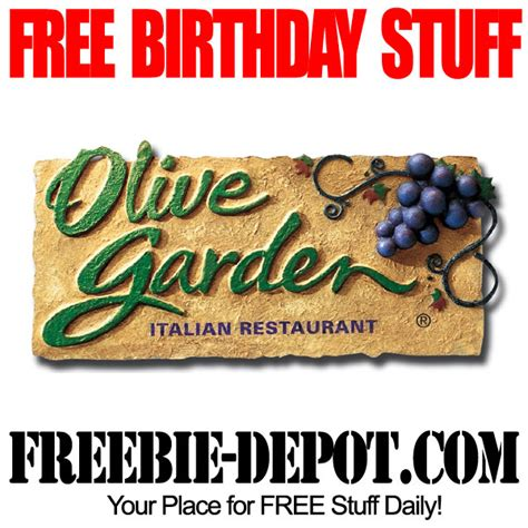 Olive Garden Coupons For Birthday | birthday freebie olive garden freebie depot