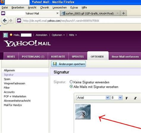 email bei yahoo zurückholen bilder in die e mail signatur bei yahoo mail einf 252 gen