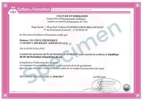 Modèle De Certificat De Compétences Professionnelles