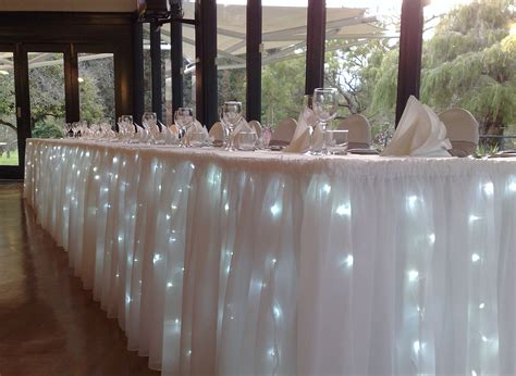 bridal table fairy light interior home designs