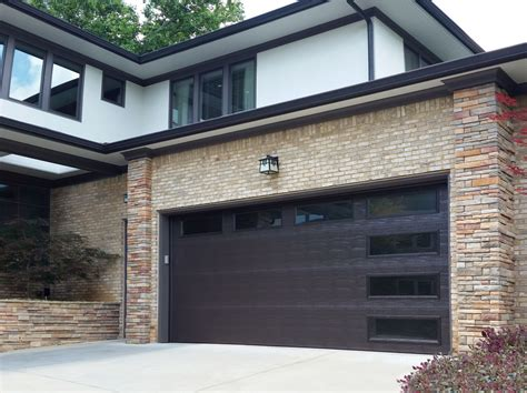 Steel Overhead Doors Garage Doors Before After Atlanta Home Improvement
