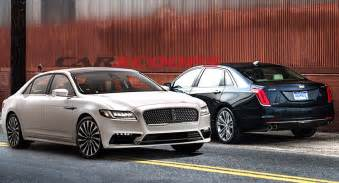 Cadillac Vs Lincoln Cadillac Ct6 Vs Lincoln Continental America S Newest