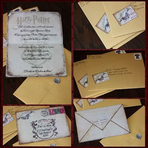 hp templates for invitations just sweet and simple harry potter invites party ideas