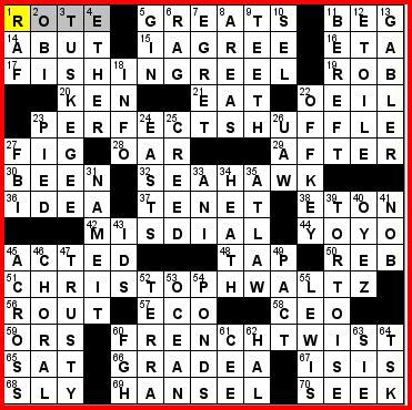 one clue crossword fishing boat thursday 3 8 12