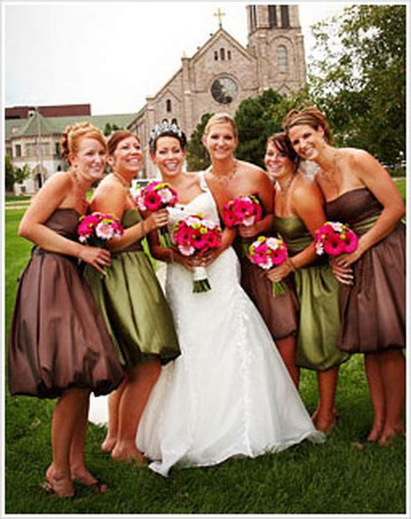 fall dress colors colors for bridesmaid dresses