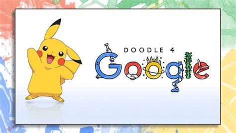 doodle 4 judges pikachu joins the panel of judges for the doodle 4