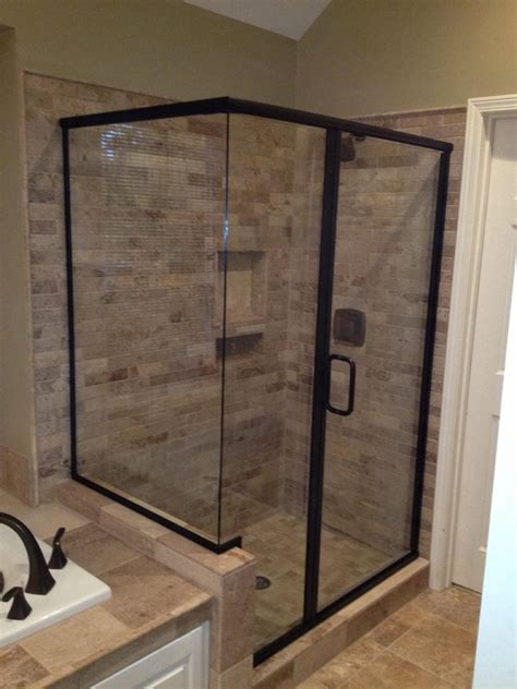 shower door frames framed shower door photo gallery precision glass