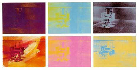 sedia elettrica andy warhol electric chair andy warhol wikiart org encyclopedia