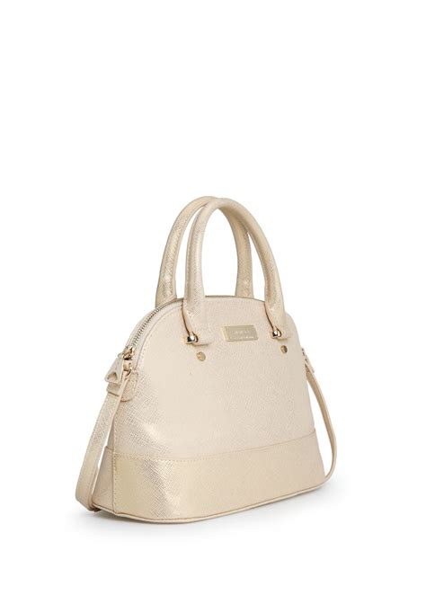 mango touch saffiano effect tote bag in lyst