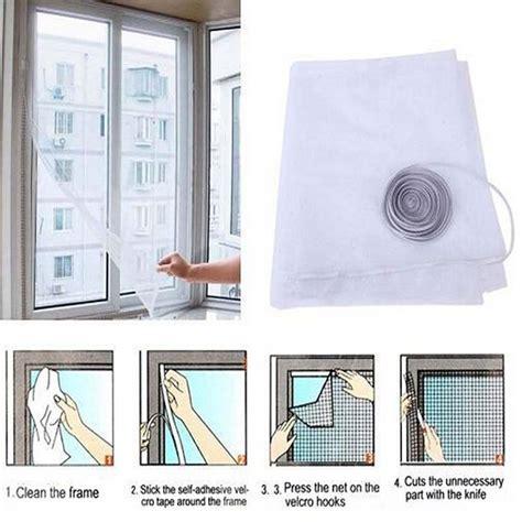 1 Meter Gorden Tirai Dapur Rainy jual velcro meteran serbaguna untuk tirai magnet perekat