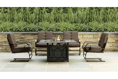outdoor gas pit table and chairs gas pits outdoor costco decoration aomuarangdong