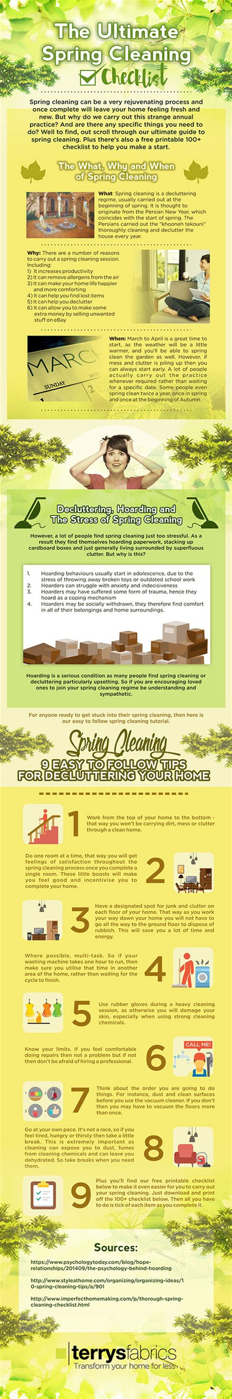 spring cleaning moves to help you feel better about your closet spring cleaning guide declutter your home infographic