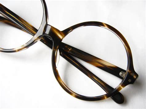 circular eyeglass frames glass