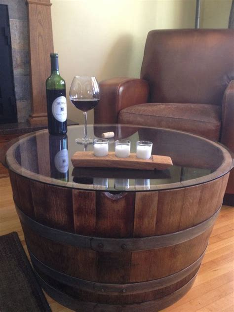 Half Barrel Table by 25 Best Ideas About Whiskey Barrel Table On