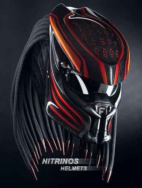 A Predator On Our Streets original predator helmet is composite kevlar carbon shell
