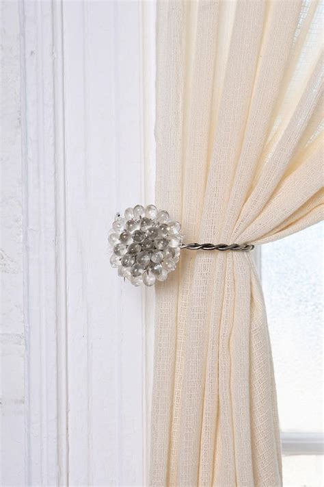 curtain clip backs 1000 ideas about curtain holder on pinterest curtain