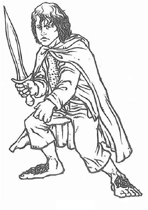 Coloring Page To Print by Free Printable Lord Of The Rings Coloring Pages For