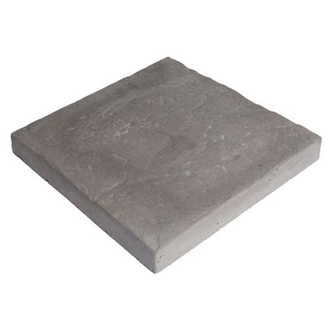 Patio Stones Rona by Slate Style Patio 12 Quot X 12 Quot Grey Rona