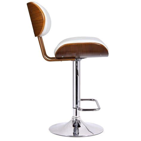adjustable bar stools white adjustable swivel bar stool in white 99431
