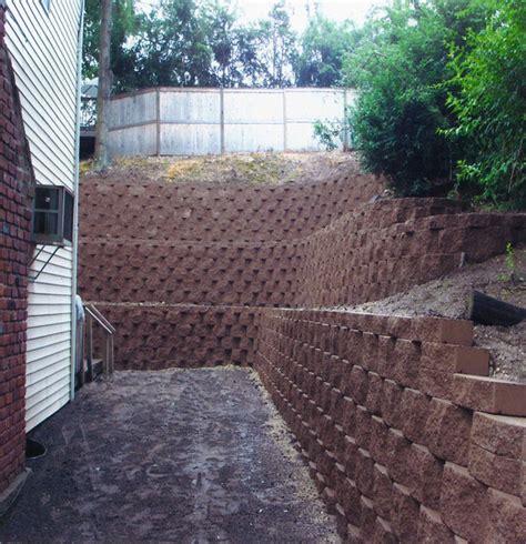 Interlocking Wall System Dix Retaining Walls Smithtown Retaining Walls St