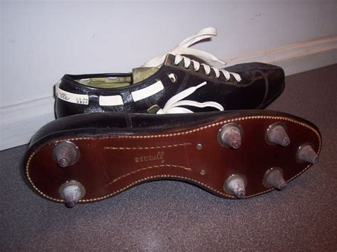 riddell football shoes riddel cleats 60s 70 s vintage football