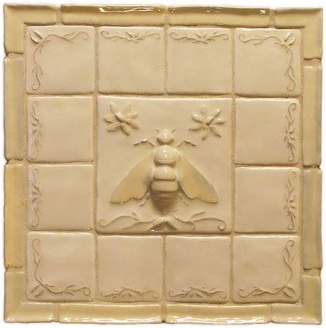 Napoleonic Bee Deco   Ceramic Tile (Fantasia Stone)   Bee