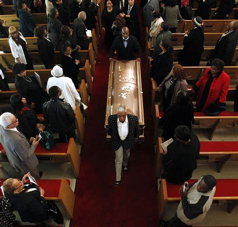 Barry White Funeral Images