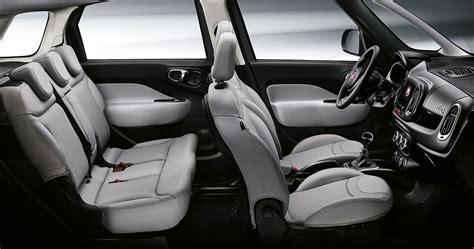 500l lounge interni nuova fiat 500l curata e tecnologica anche cross e wagon