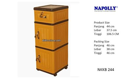 Meja Plastik Shinpo harga container plastik napolly nkkb 244 distributor