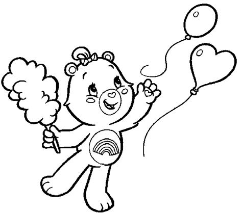 care bears coloring pages cheer bear cheer bear care coloring pages coloring page