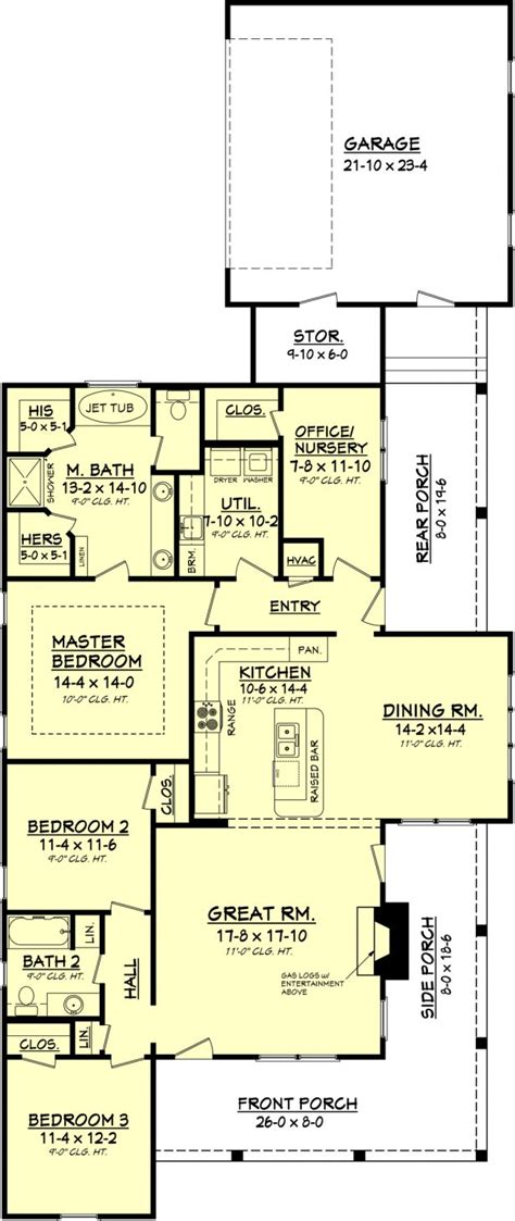 2000 sq ft house plans one story simple one story house plansingle plans 2000 sq ft single