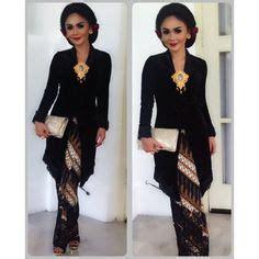 Kutu Baru Amira Kebaya Batik Brown brokat kebaya and blouses on
