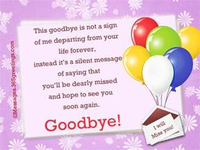 best goodbye messages and wishes 365greetings