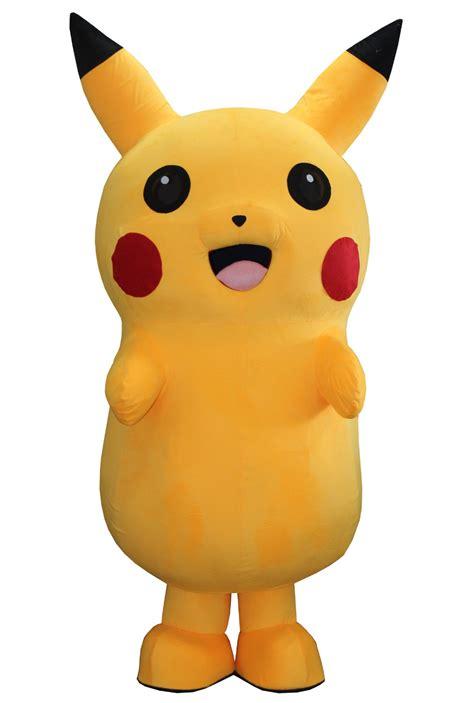 Pikachu Mascot 5 2016 size new lovely pikachu mascot costume pikachu