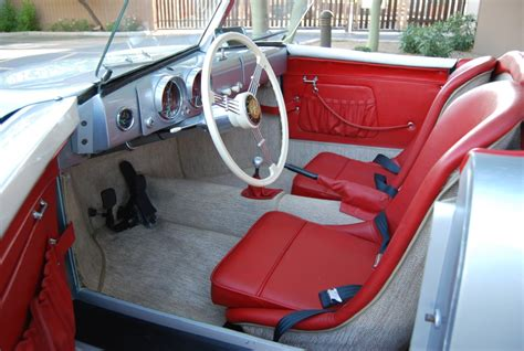 porsche speedster interior 1948 porsche gmund 356 001 recreation bring a trailer