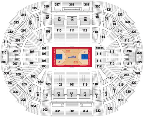 staples center map staples center seating chart la clippers