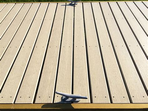 boat dock decking material fence city docks at fence city